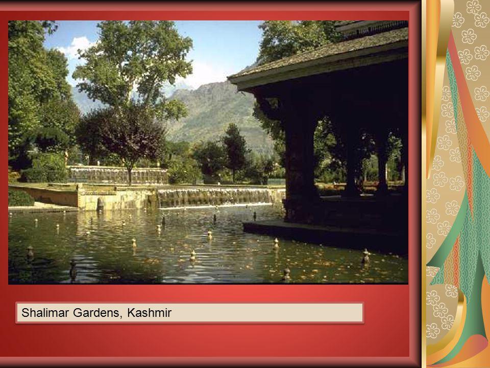 Shalimar Gardens, Kashmir