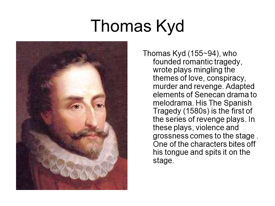 Thomas Kyd