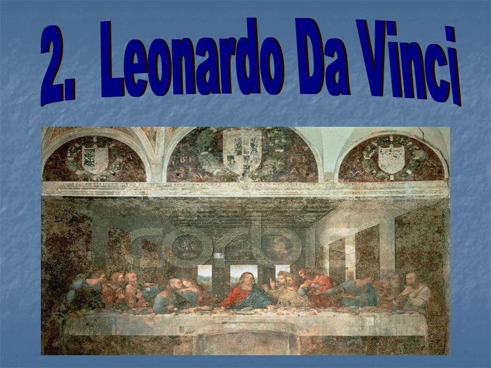 2. Leonardo Da Vinci