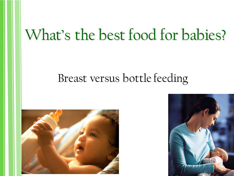 What's the best food for babies