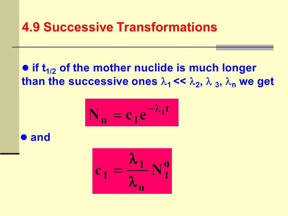 4.9 Successive Transformations