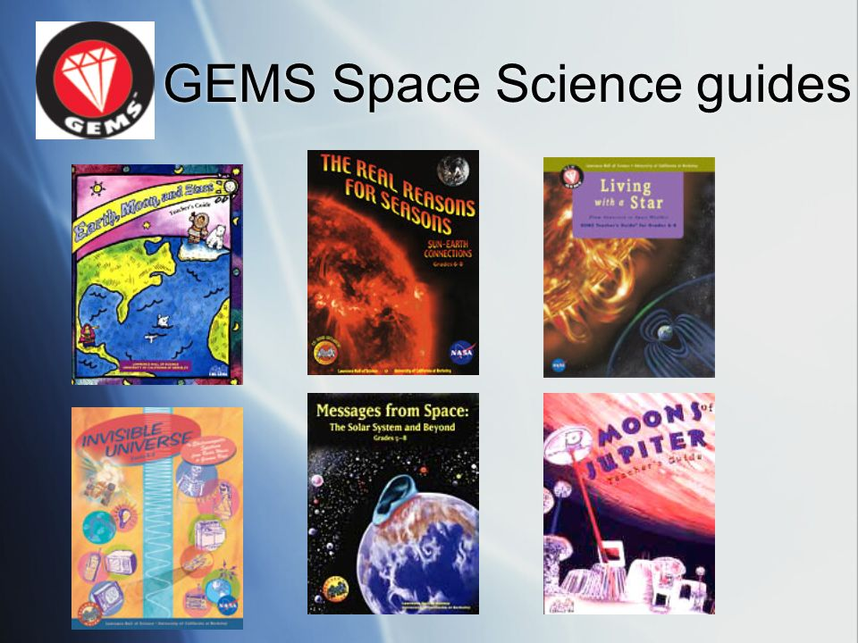 GEMS Space Science guides