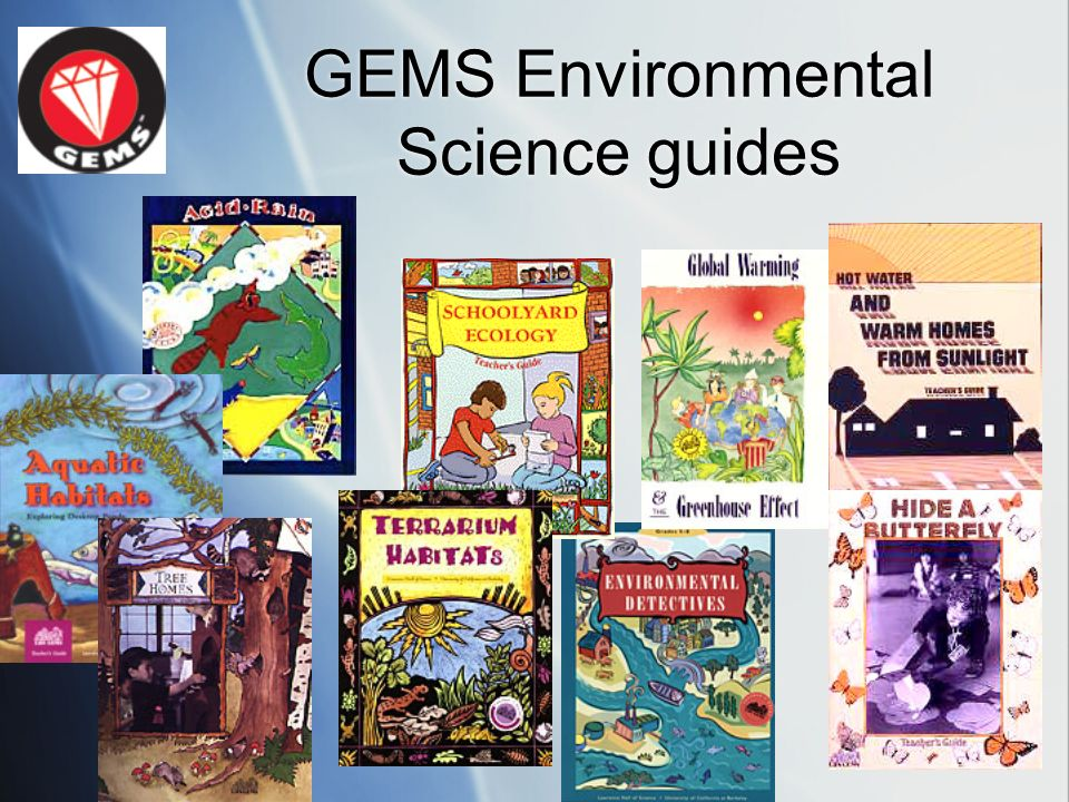 GEMS Environmental Science guides