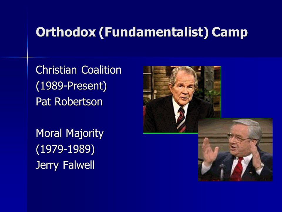 Orthodox (Fundamentalist) Camp