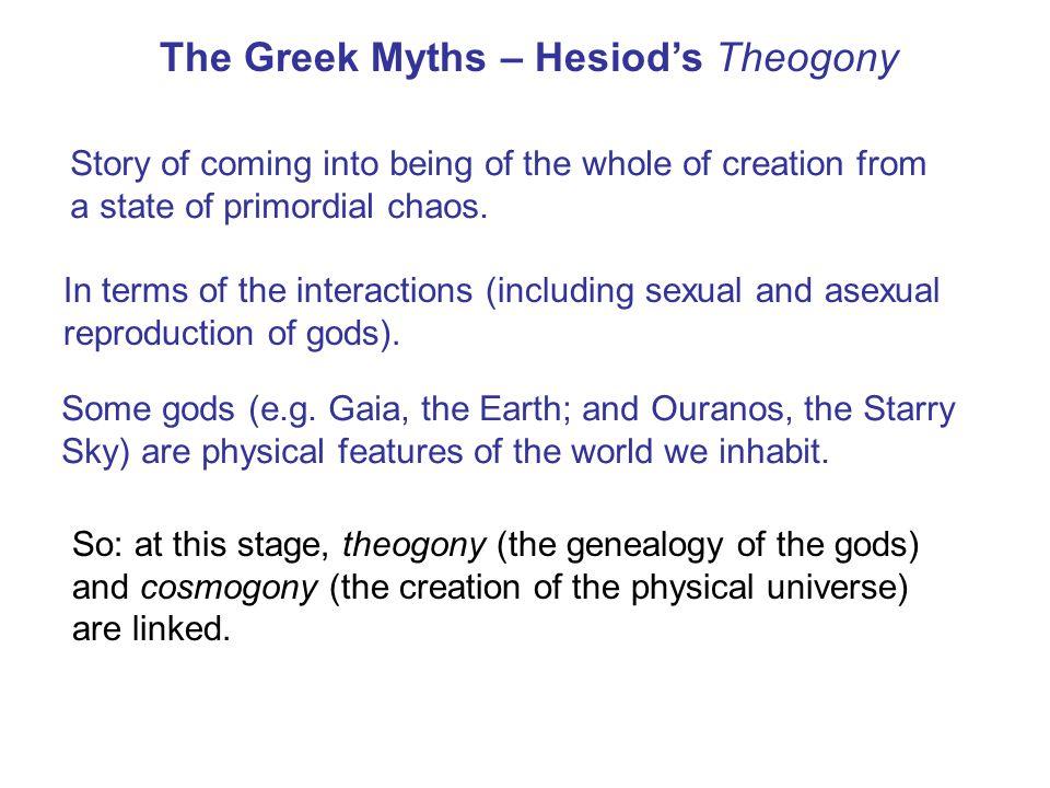 The Greek Myths – Hesiod's Theogony