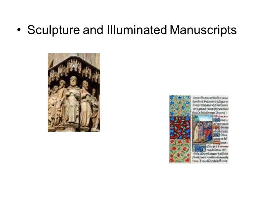 Sculpture and Illuminated Manuscripts