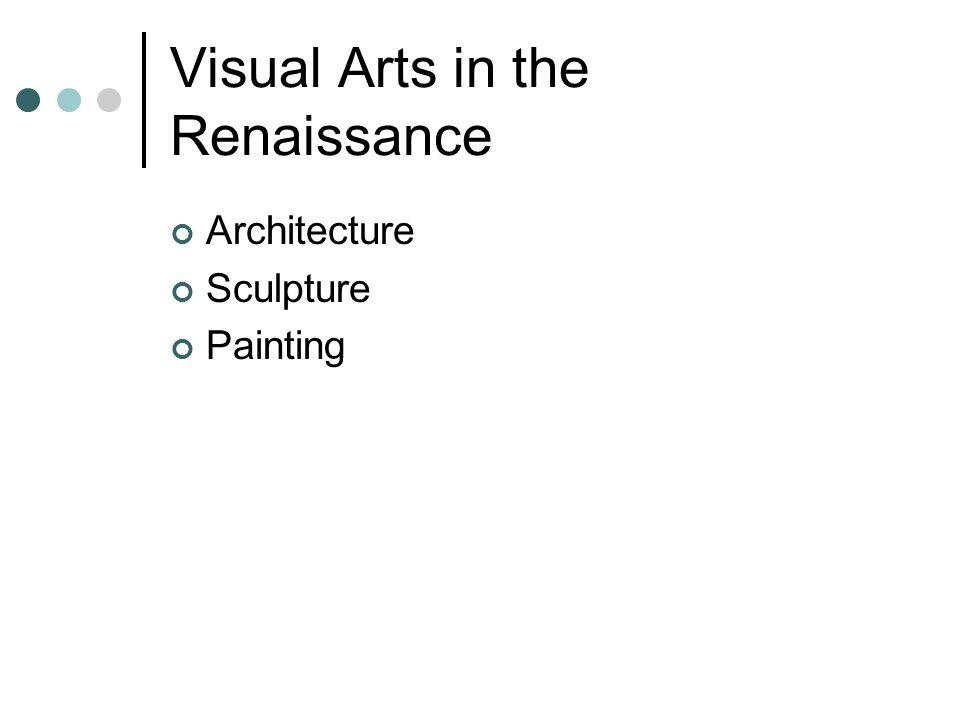 Visual Arts in the Renaissance