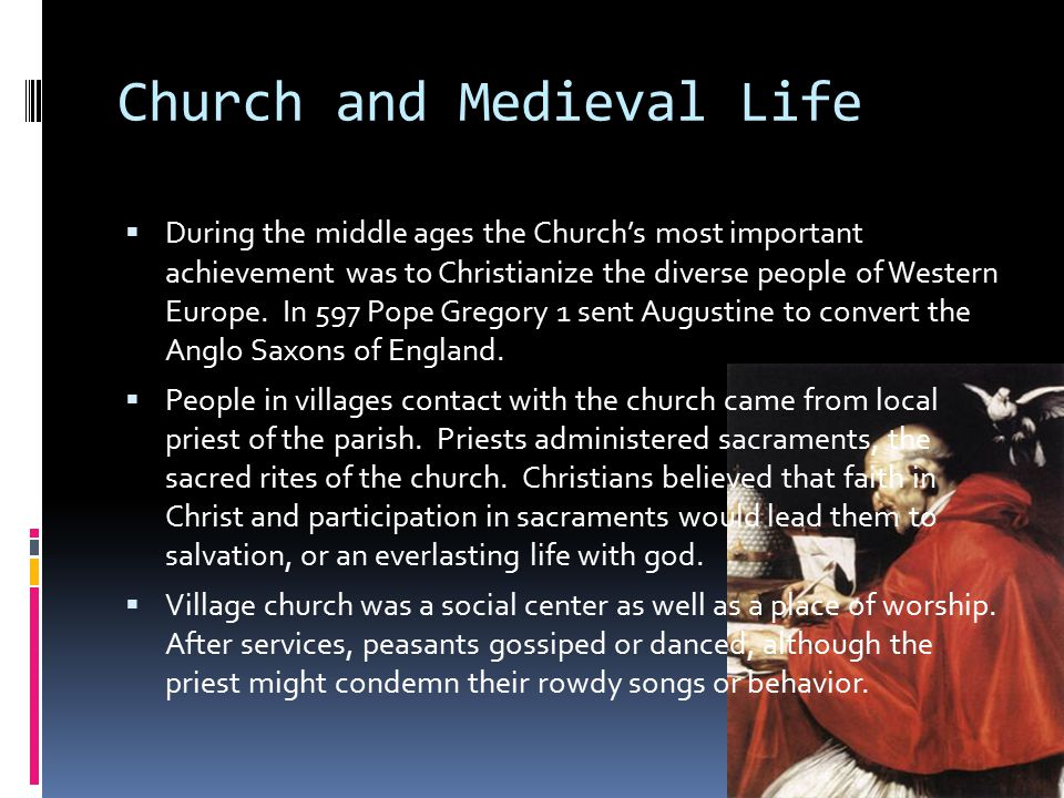 Church and Medieval Life