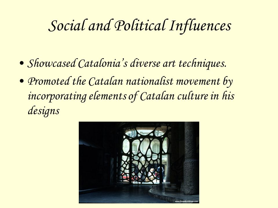 Social and Political Influences