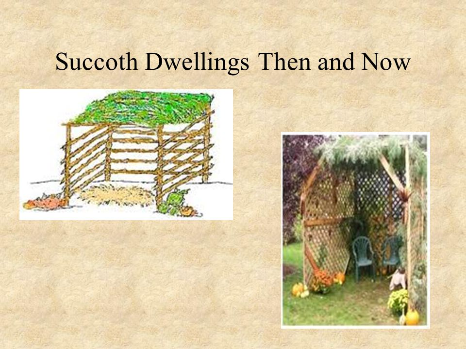 Succoth Dwellings Then and Now