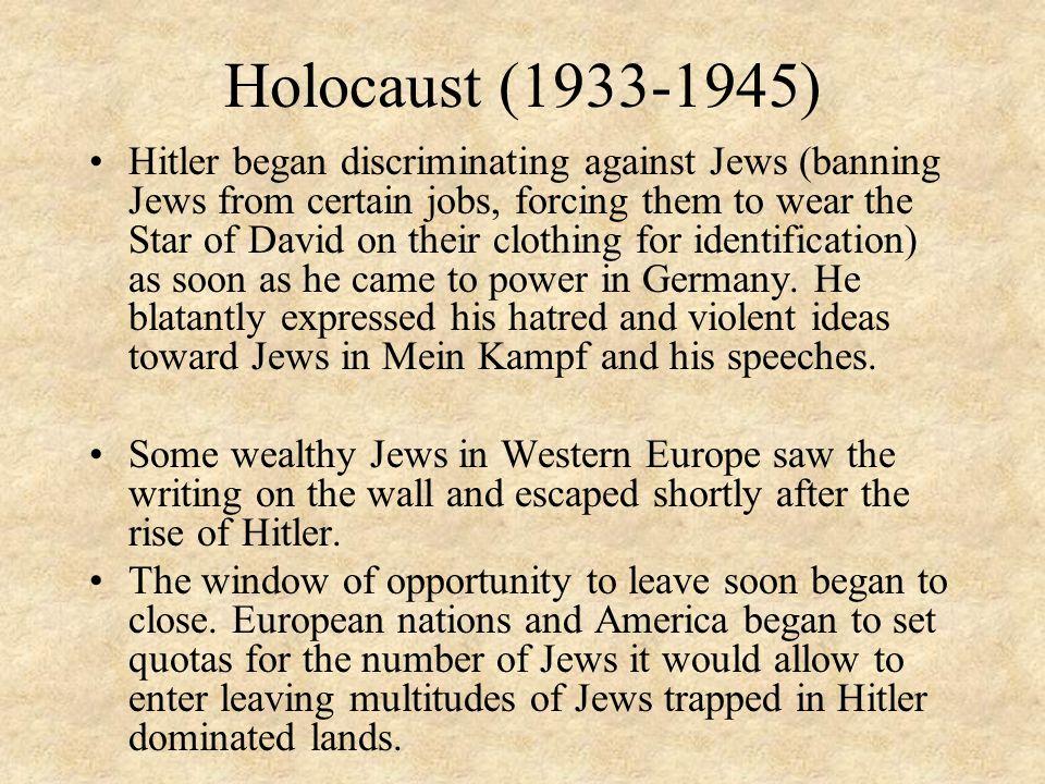 Holocaust (1933-1945)