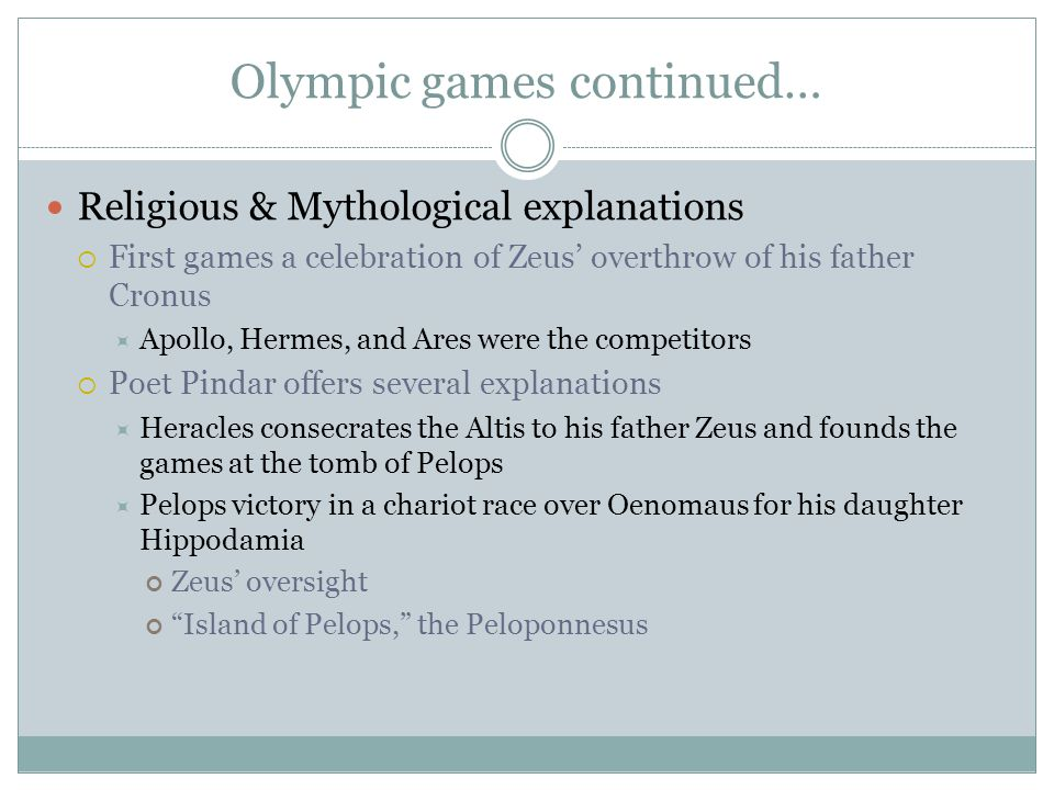 Olympic games continued…