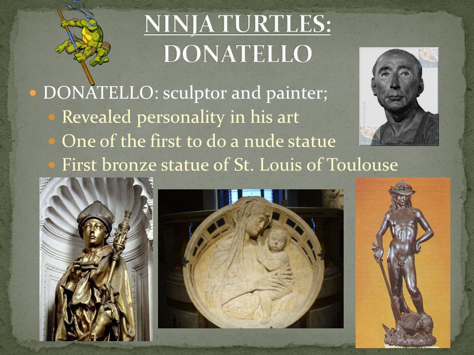 NINJA TURTLES: DONATELLO