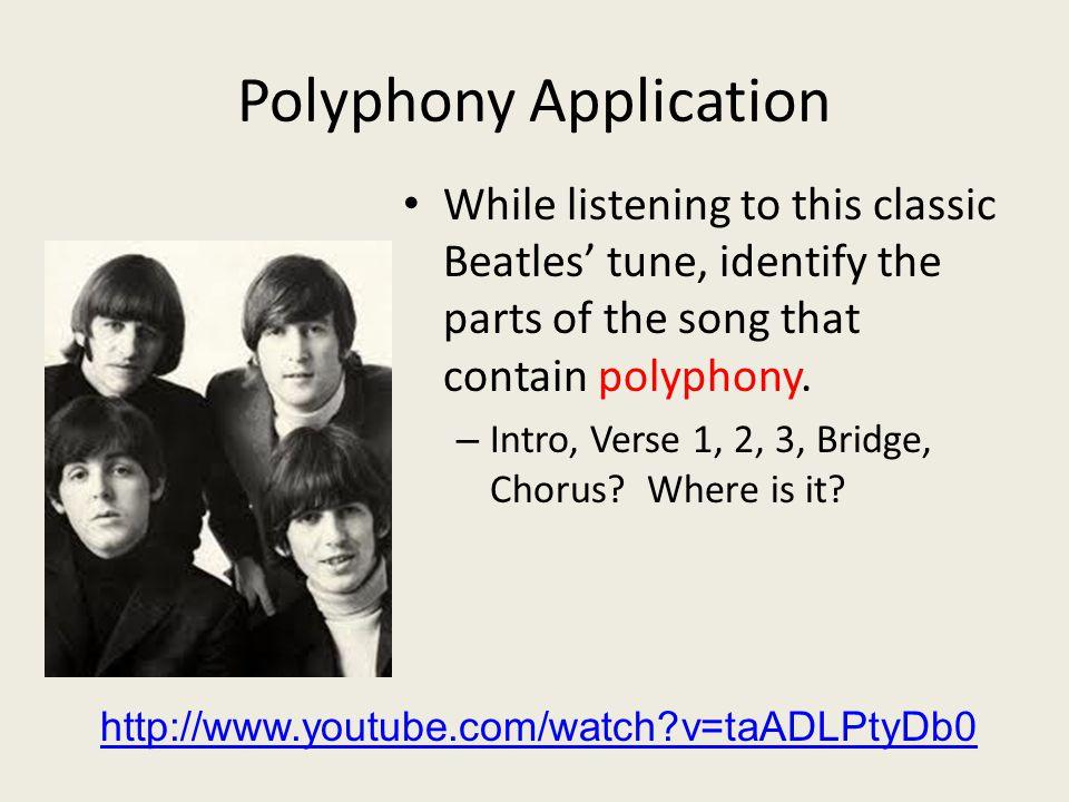 Polyphony Application