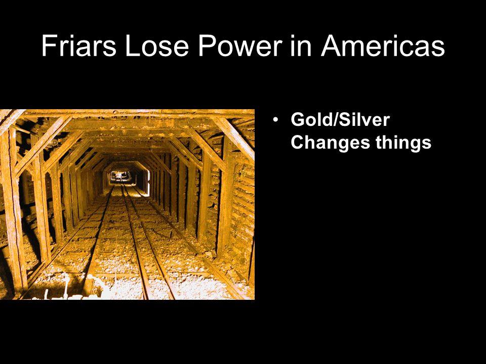 Friars Lose Power in Americas
