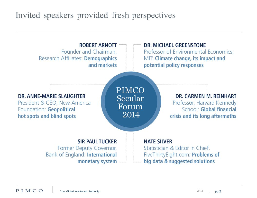 PIMCO's 2014 secular outlook