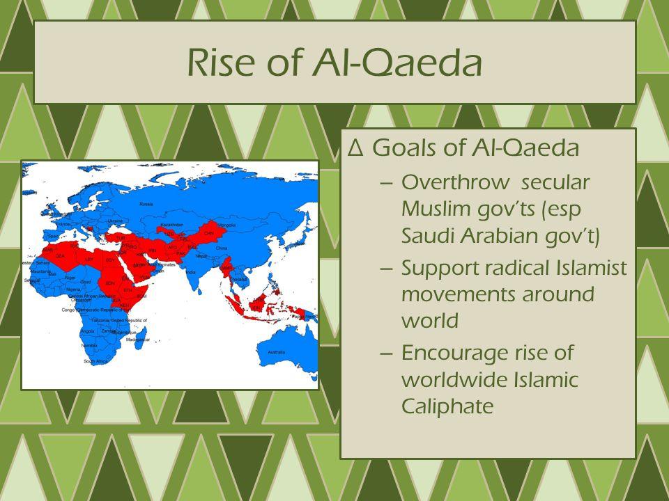 Rise of Al-Qaeda Goals of Al-Qaeda