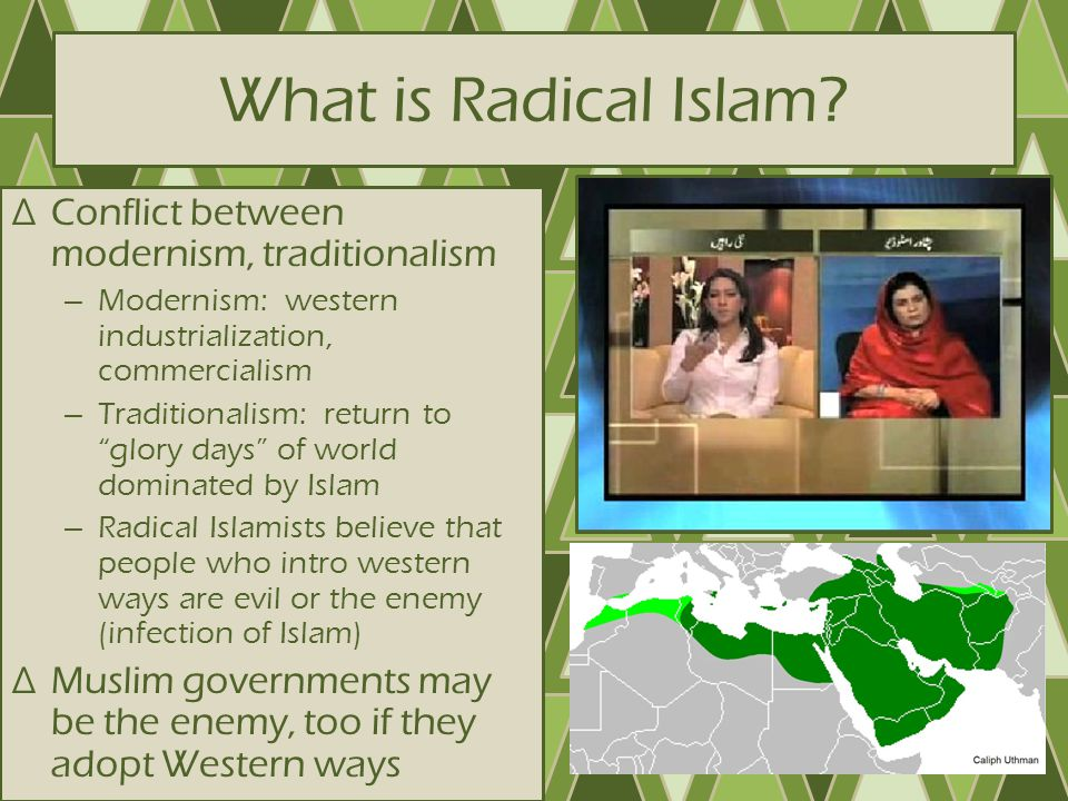 What is Radical Islam Conflict between modernism, traditionalism