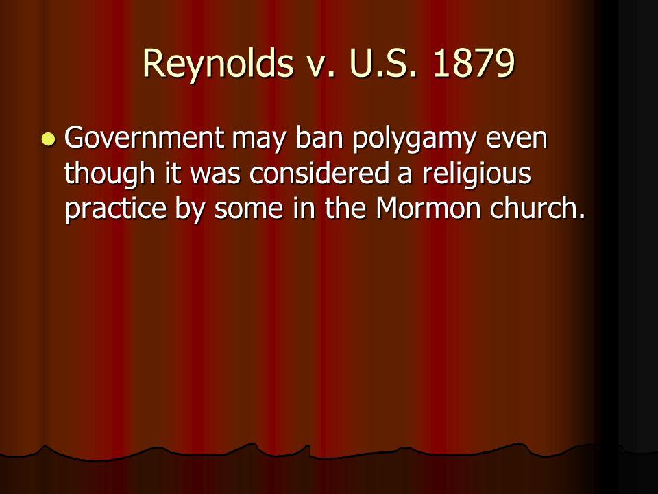 Reynolds v. U.S.