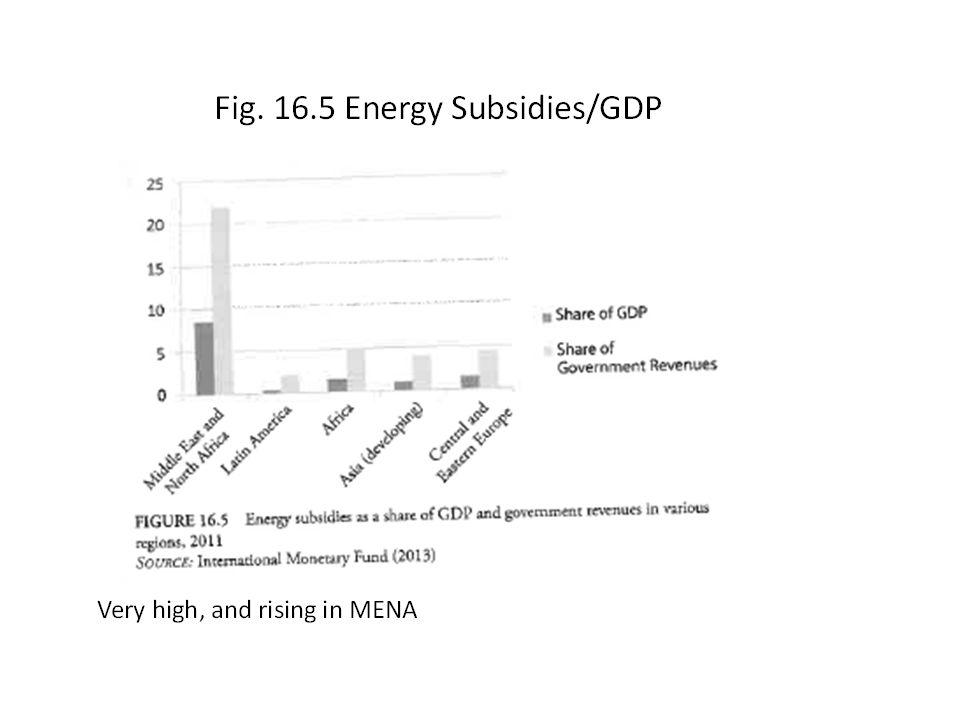 Fig. 16.5 Energy Subsidies/GDP.
