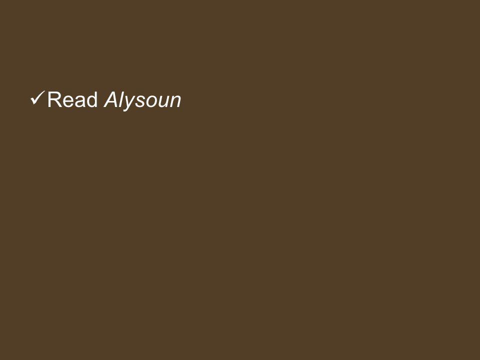Read Alysoun