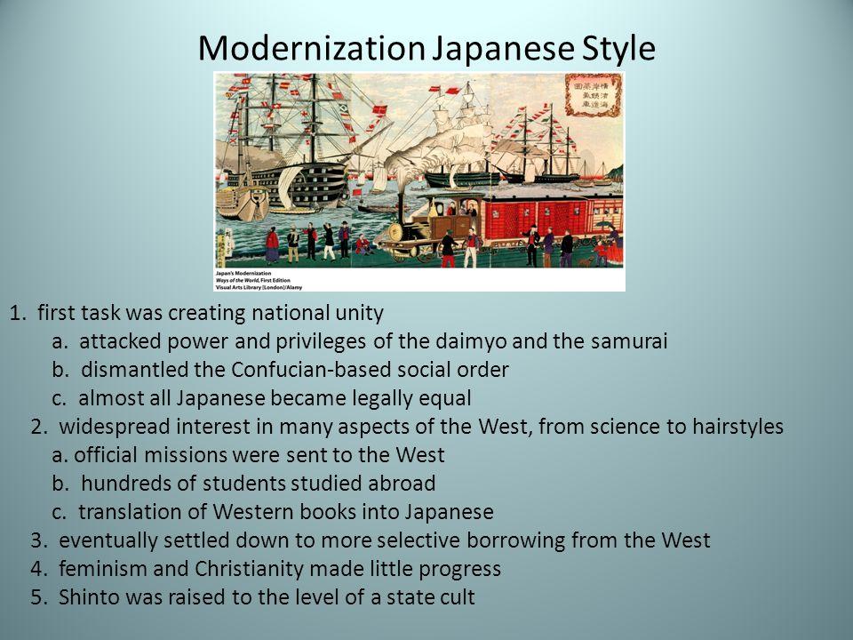 Modernization Japanese Style