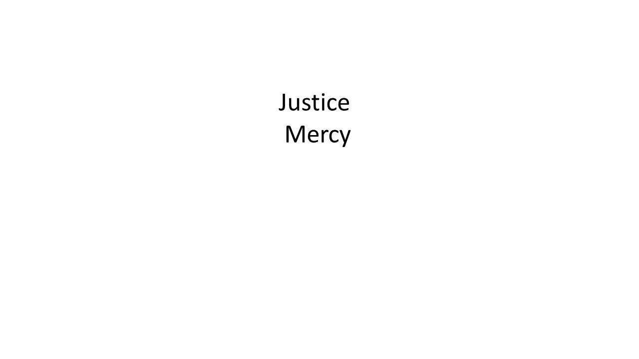 Justice Mercy