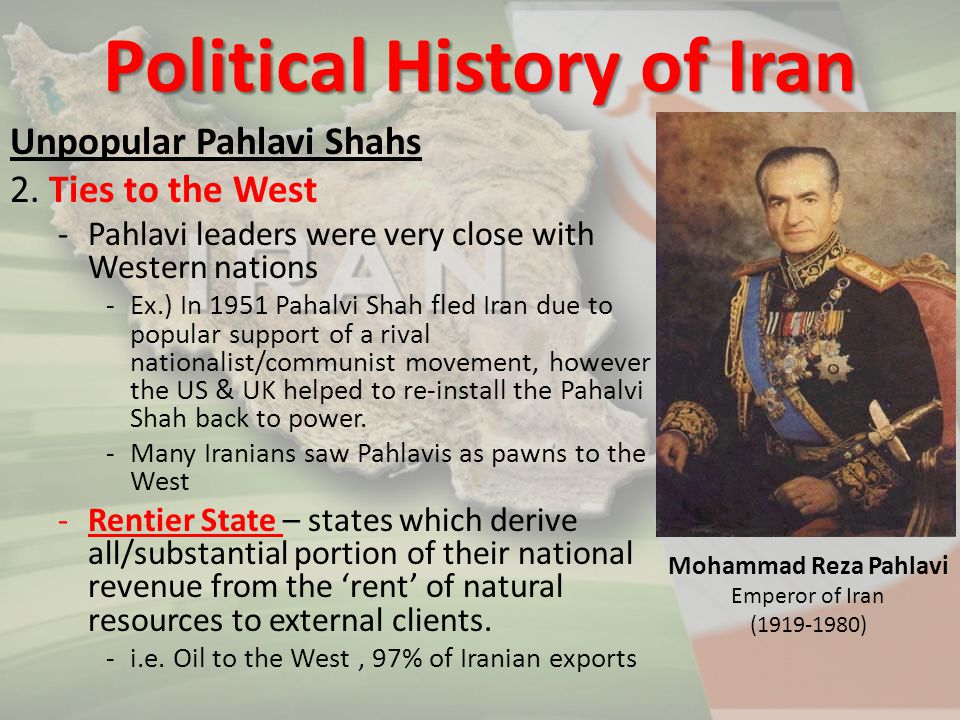 Political History of Iran