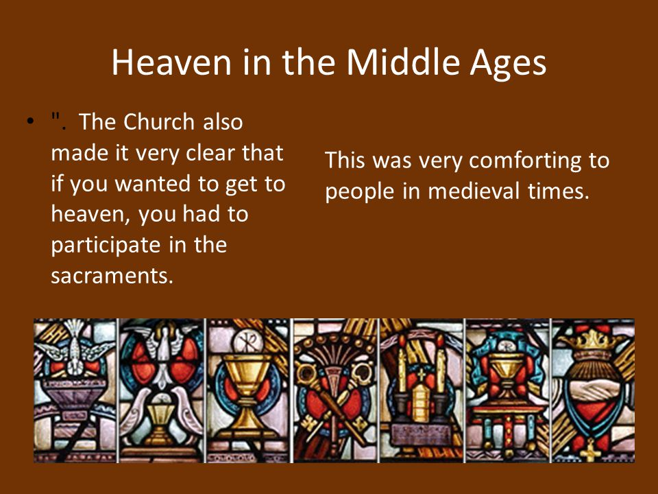 Heaven in the Middle Ages