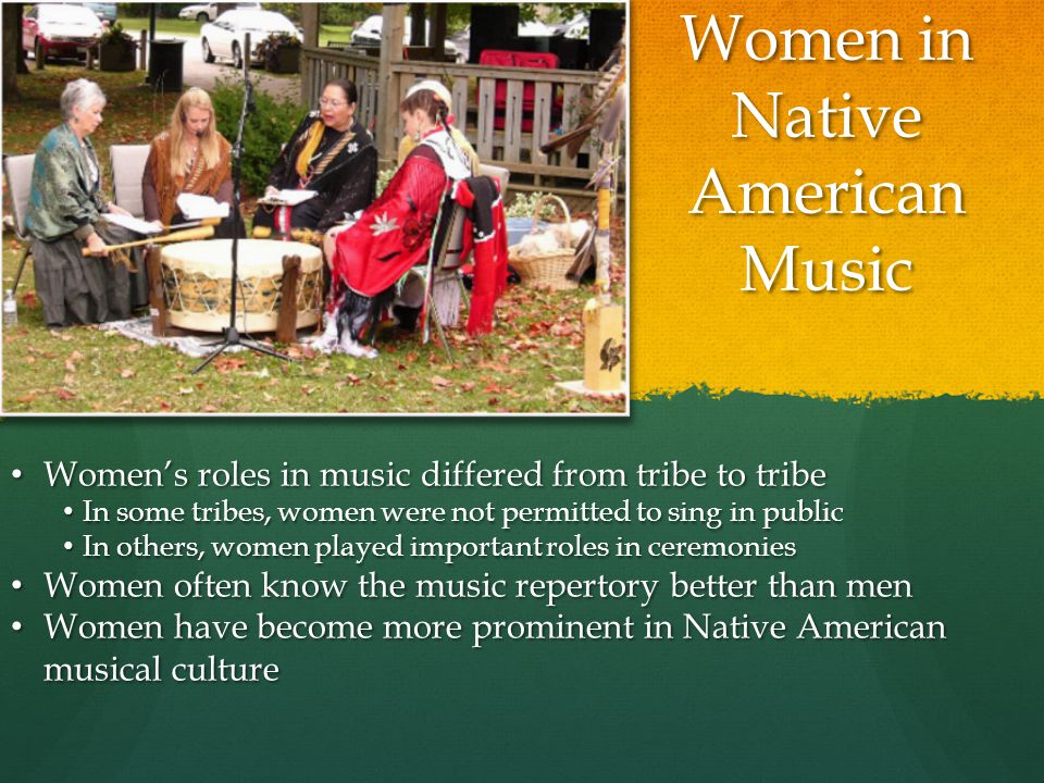 Women in Native American Music