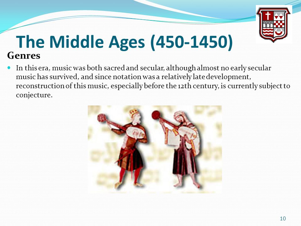 The Middle Ages (450-1450) Genres