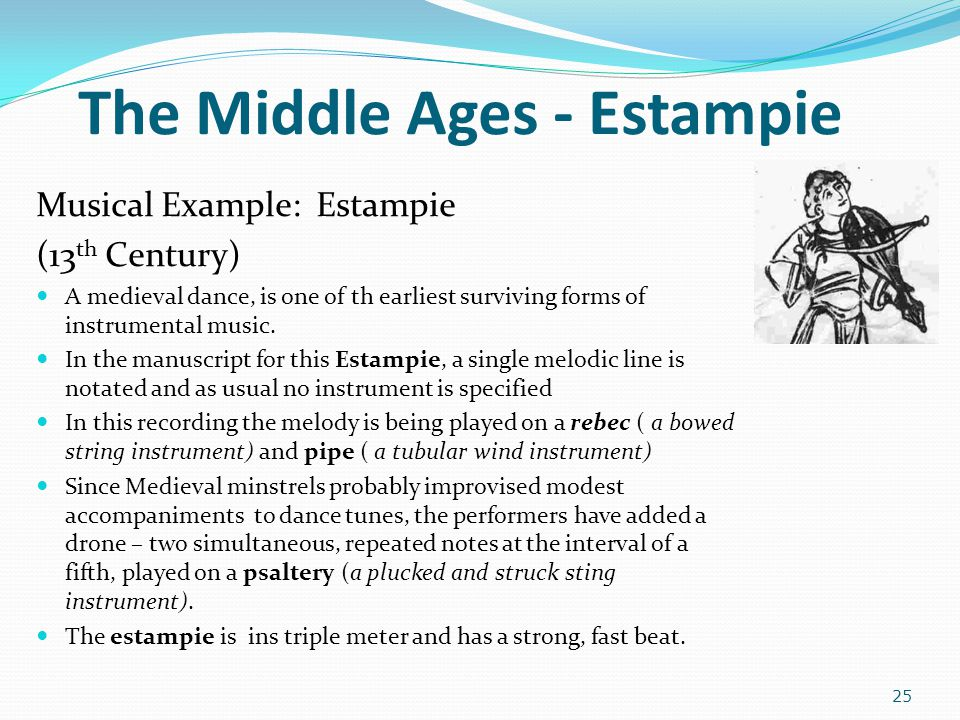 The Middle Ages - Estampie