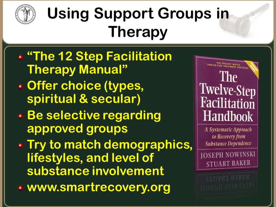 Using Support Groups in Therapy