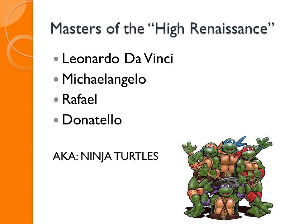 Masters of the High Renaissance
