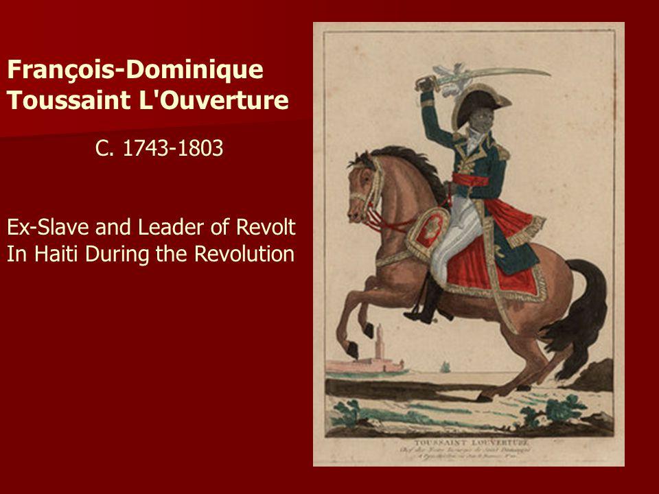 François-Dominique Toussaint L Ouverture