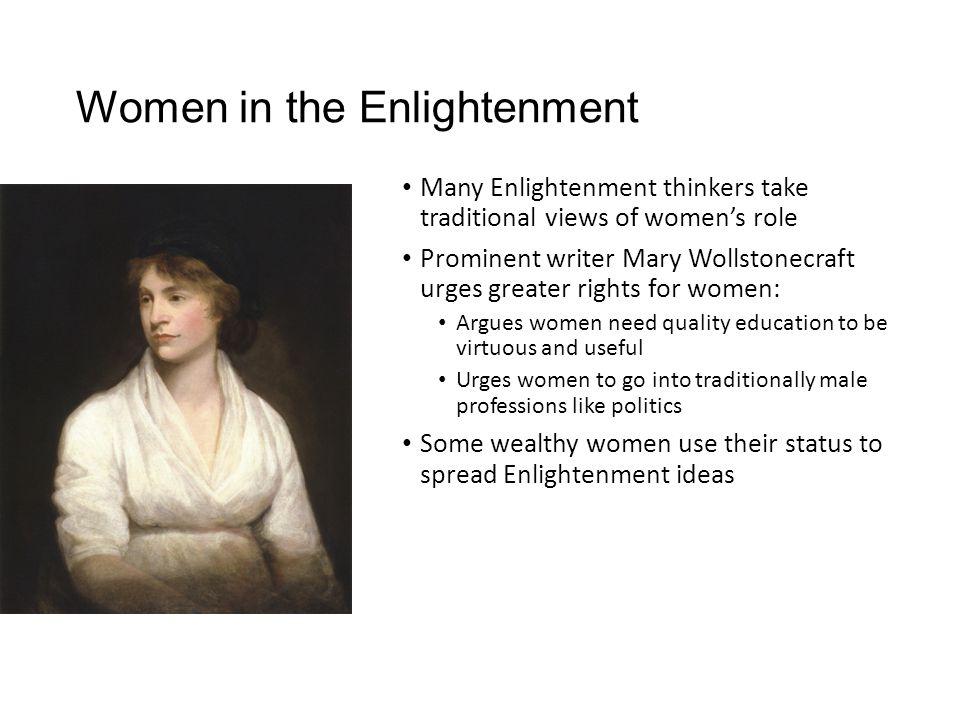 Women in the Enlightenment