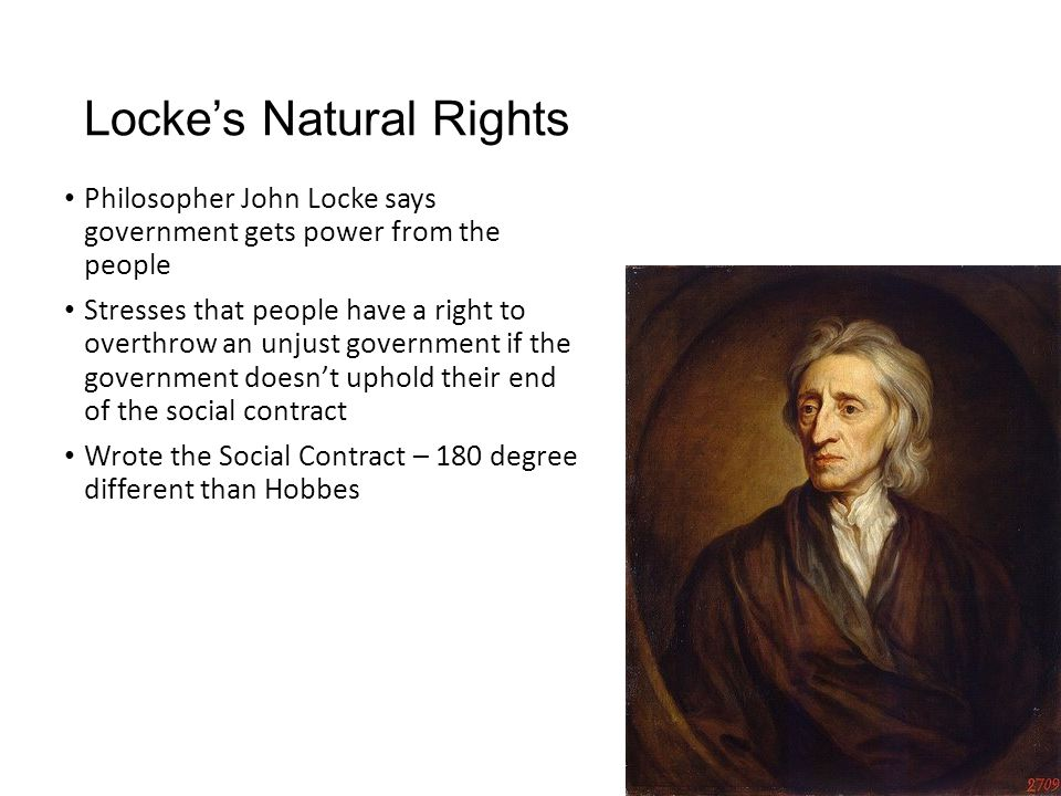 Locke's Natural Rights