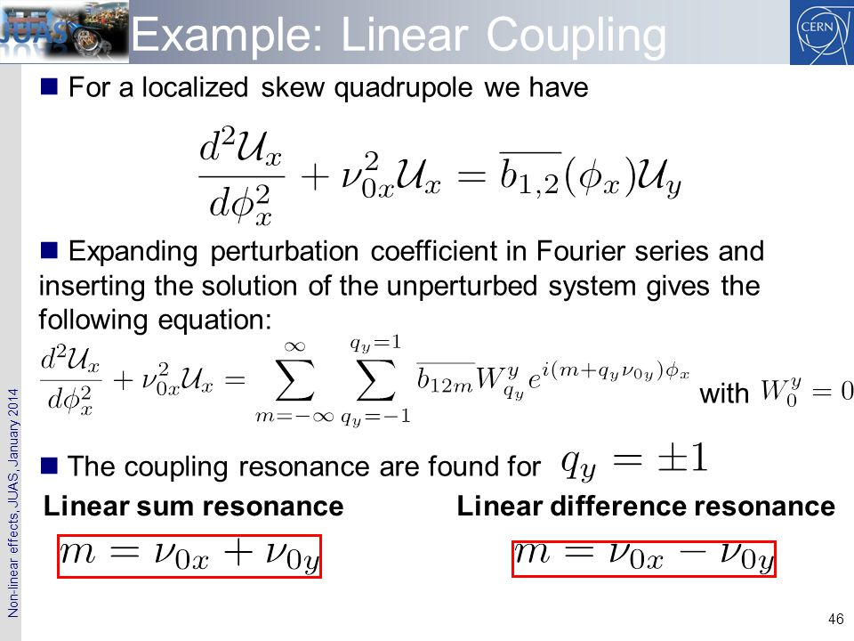 Example: Linear Coupling