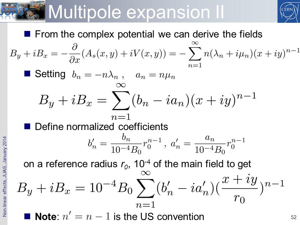 Multipole expansion II