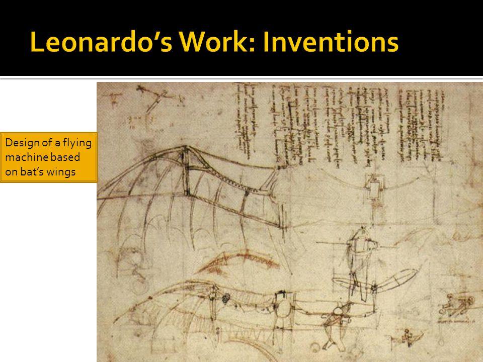 Leonardo's Work: Inventions