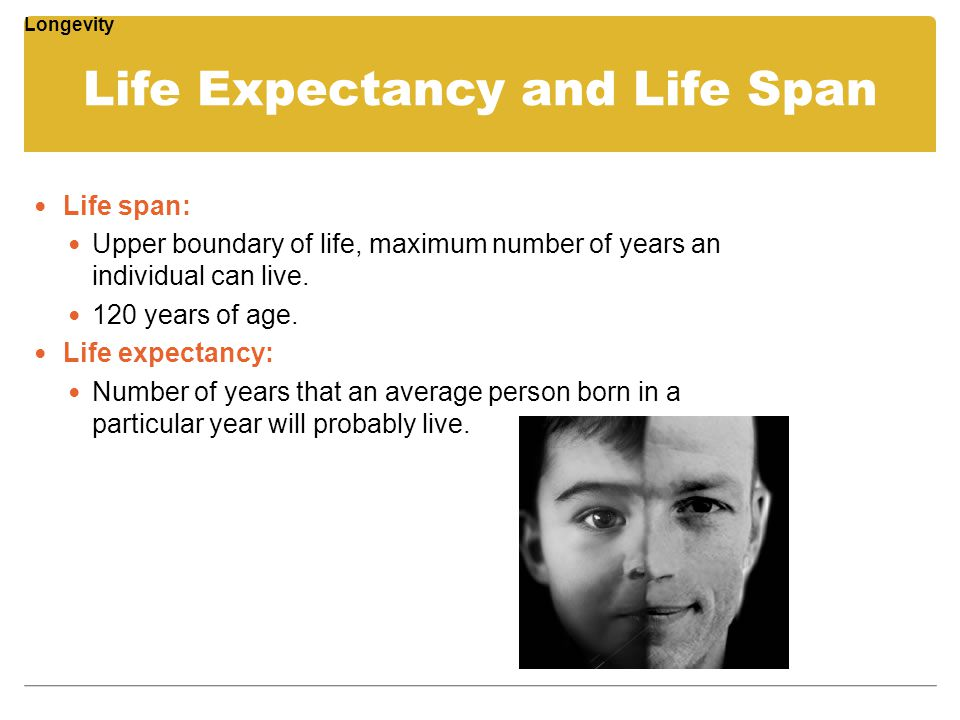 Physical development and biological aging ppt video for Life expectancy of mattress