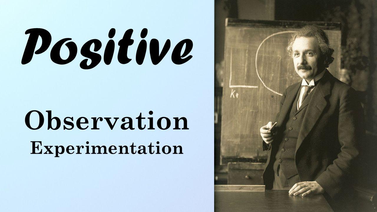 Positive Observation Experimentation