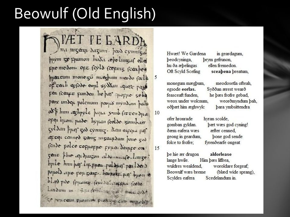 Beowulf (Old English)