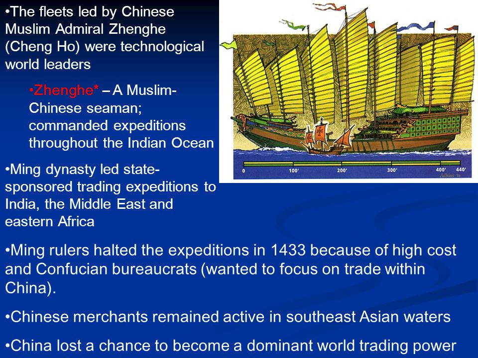 Chinese merchants remained active in southeast Asian waters