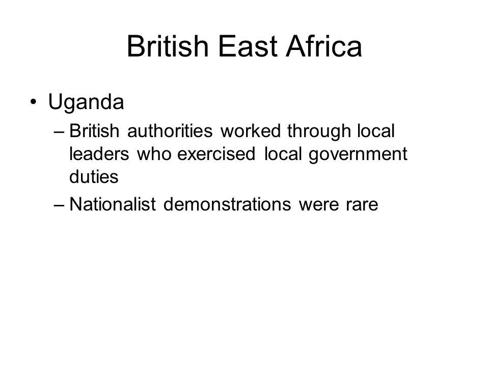 British East Africa Uganda