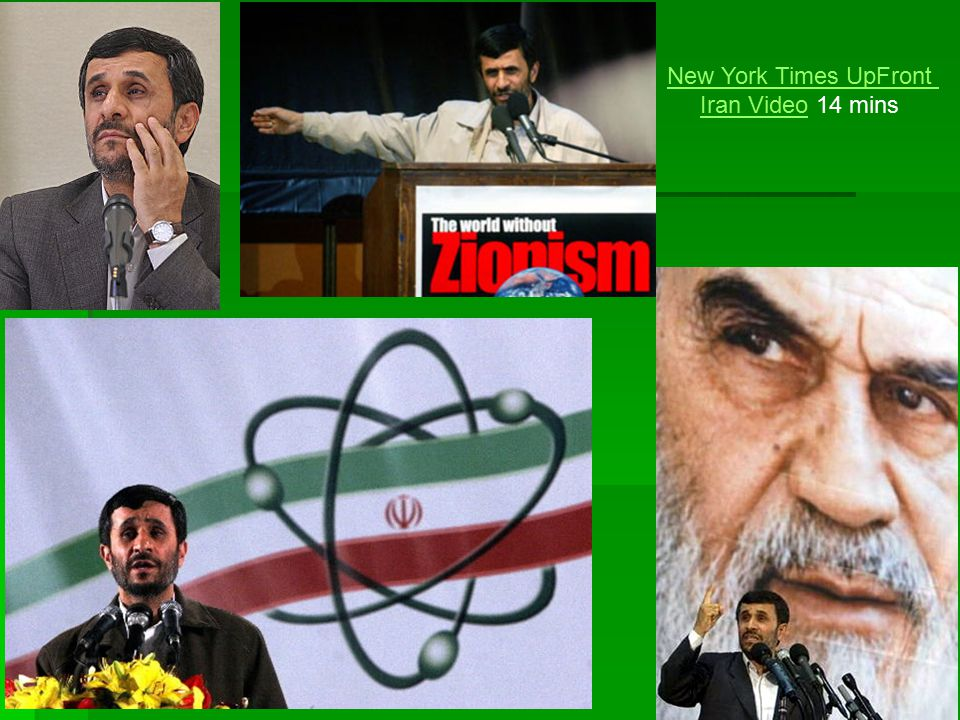 New York Times UpFront Iran Video 14 mins