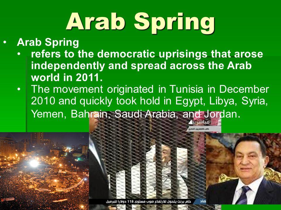 Arab Spring Arab Spring