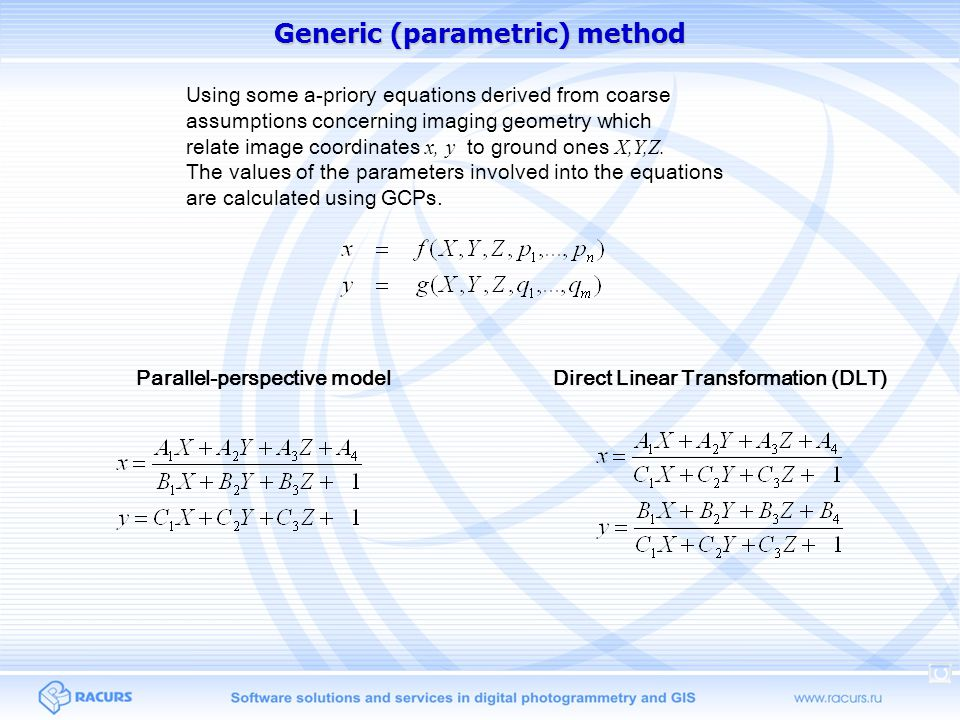 Generic (parametric) method