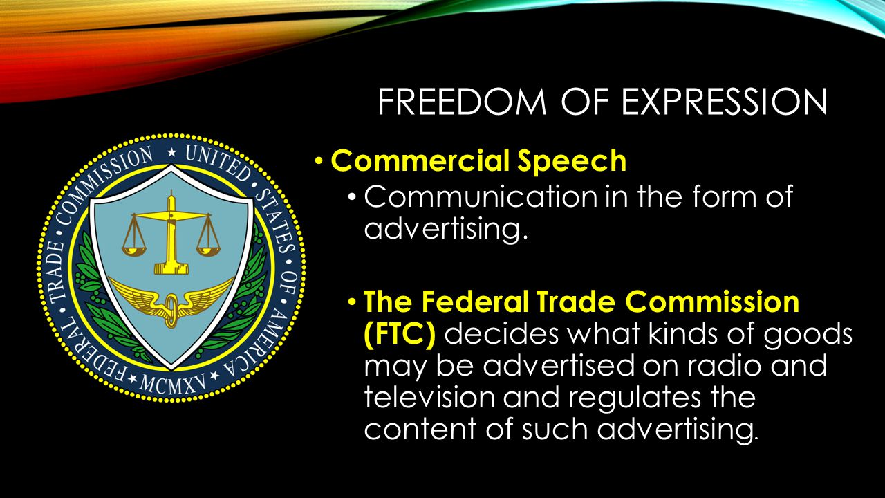 Freedom of Expression Commercial Speech