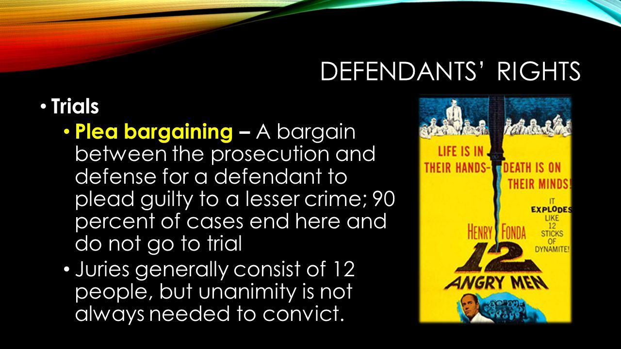 Defendants' Rights Trials